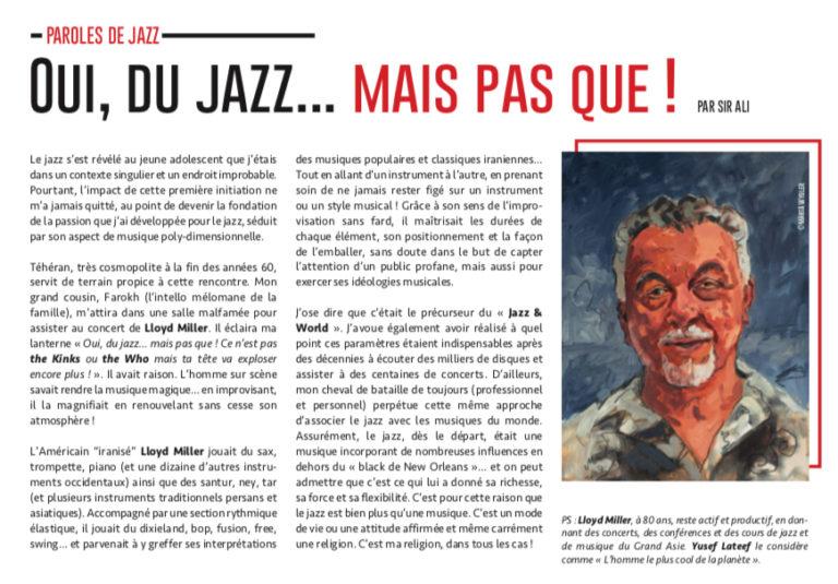 Paroles de jazz: Comment je suis entré dans le monde de jazz…il y a 50 ans!!